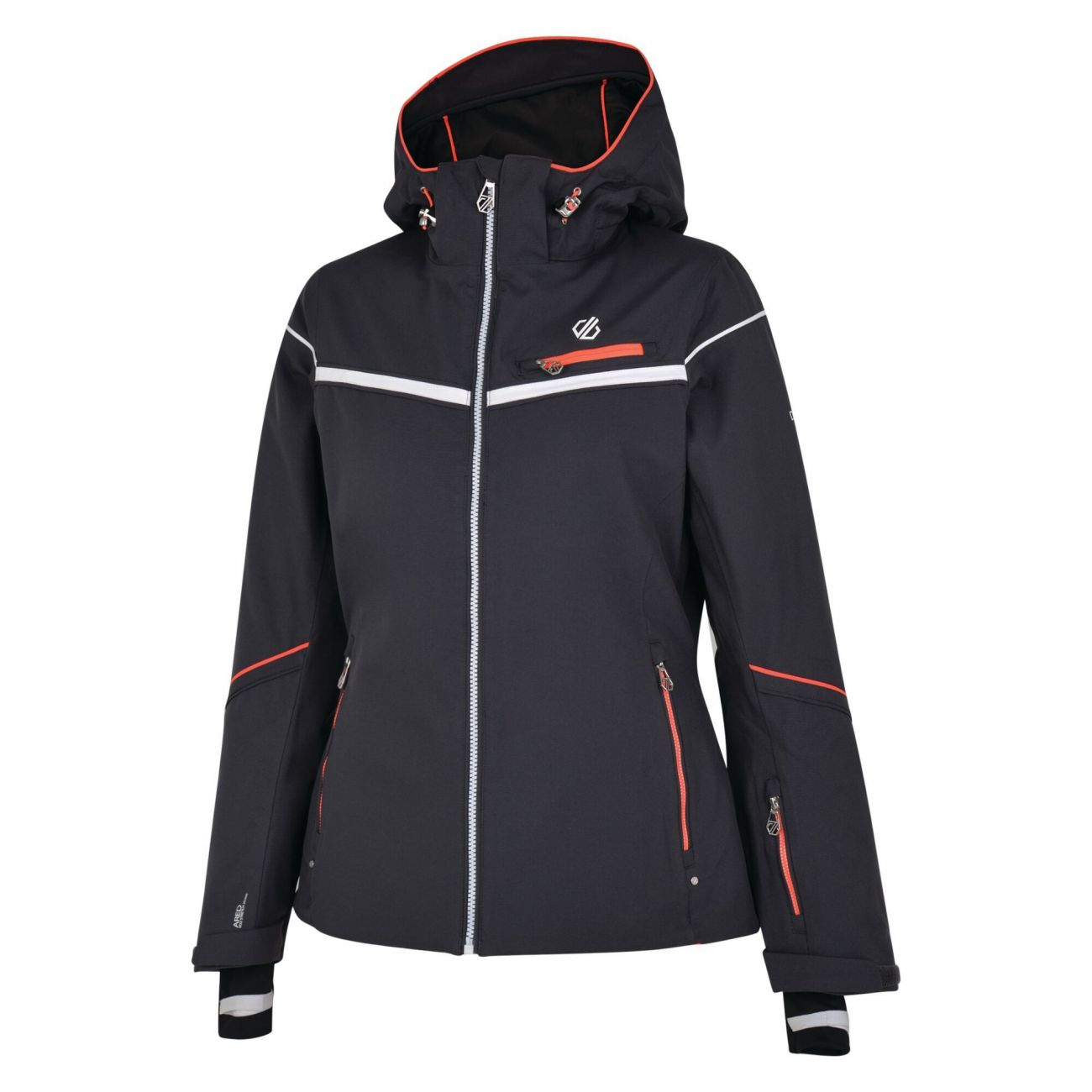 Dare2b Damen Skijacke Icecap Ebony Grey