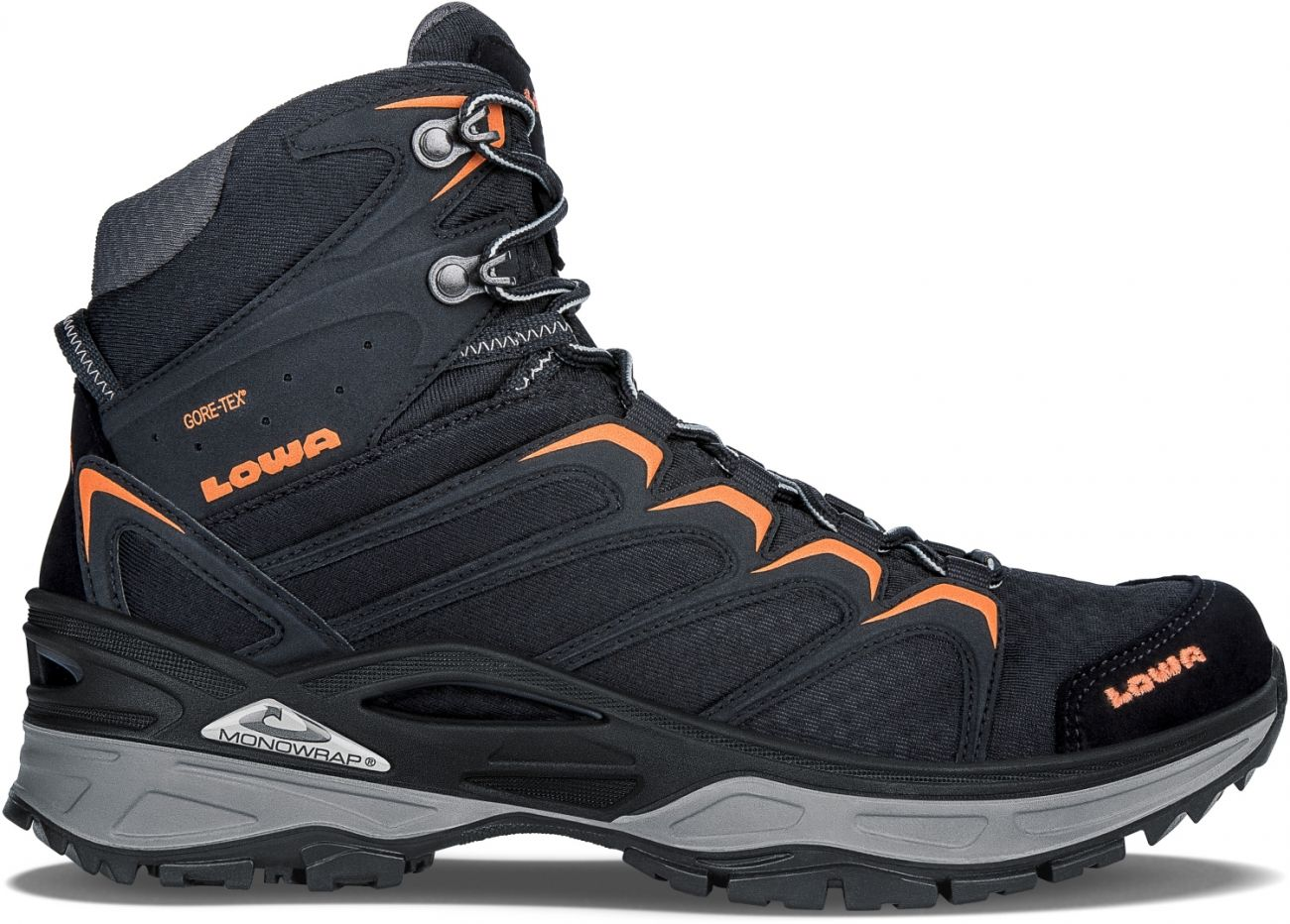 INNOX GTX MID SCHWARZ/ORANGE