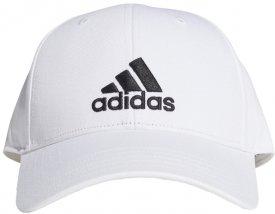 BBALL CAP COT BLACK/WHITE