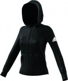 Adidas Damen Jacke Ess Solid FZ Hoodie