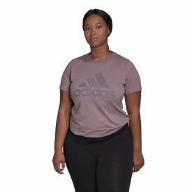 "Adidas Damen Shirt große Größen ""Badge of Sport Cotton Tee"""