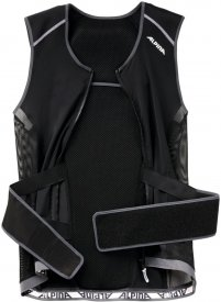 JSP 3.0 MEN VEST black-red (matt)