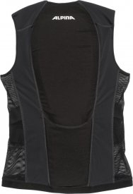 JSP Men Vest black-silver-white