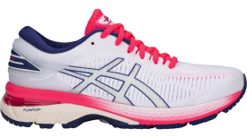GEL-KAYANO 25 WHITE/METALLIC SILVER