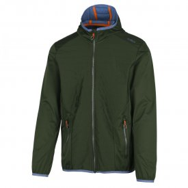 MAN FIX HOOD JACKET AVOCADO