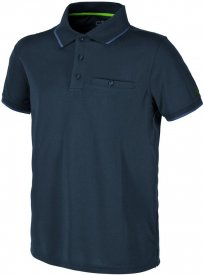 MAN POLO BLACK BLUE