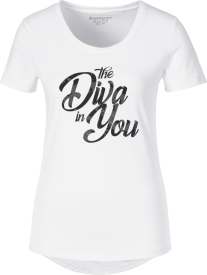 Damen T-Shirt Gundula weiß