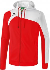 CLUB 1900 2.0 trainingjacket w.hood red/white