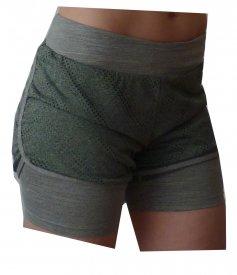 Shorts knitted MEDIUM GREY 2