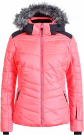 Damen Skijacke Vidalia Korallenrot