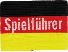 Armbinde Spielführer Germany SCHW/ROT/GOLD
