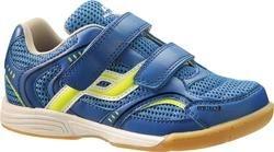 Ind-Schuh Courtplayer Klett Jr BLAU/GELB