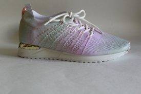 Damen Sneaker pastell grün/rosa