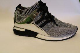 La Strada Damen Sneaker Silber/ Glitzer