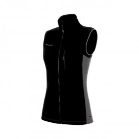 Aconcagua ML Vest Women black-black melange