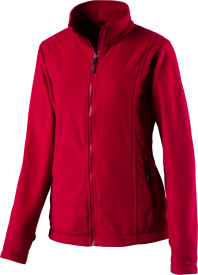 Da.-Fleece-Jacke Nelson Lagoon IV RED WINE