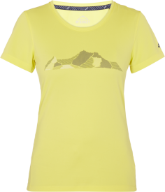 Da.-T-Shirt Rakka wms YELLOW LIGHT