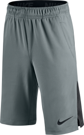 AS HYPERSPEED KNIT SHORT YTH COOL GREY/REFLECTIVE SILV