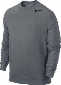 DRI-FIT TOUCH FLEECE CREW COOL GREY/BLACK