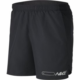 M NK AIR CHLLGR SHORT 7IN BF BLACK/WHITE