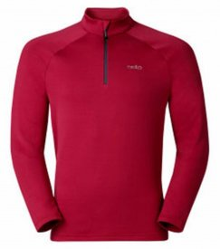 Odlo Midlayer 1/2 zip SNOWBIRD jester red