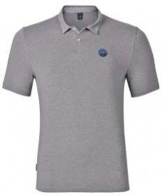Polo shirt s/s SHIFT grey melange