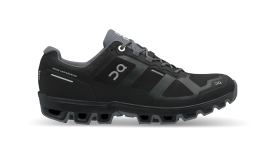 On Damenlaufschuhe Cloudventure Waterproof Black | Graphit