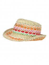 GLOSS 15 straw hat Cool Orange