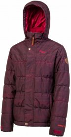 HELSKI JR snowjacket Dark Lava