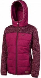 INDRAS 17 JR full zip hoody Ruby