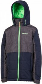 KICK JR snowjacket Ground Blue