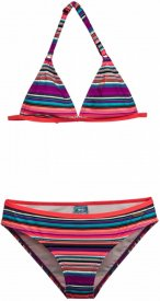 SUZY 17 JR triangle bikini Wild Berry