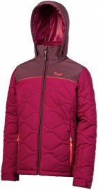VEERE JR snowjacket Beet Red