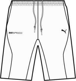 IT evoSPEED Woven Shorts WHITE