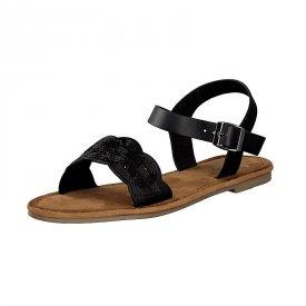 D-Sandale schwarz