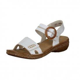 D-Sandale weiß