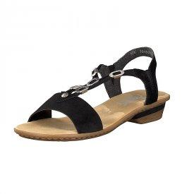 D-Sandalette schwarz