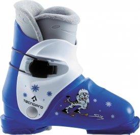 Ski-Stiefel Skitty Jr. SCHWARZ/ROT