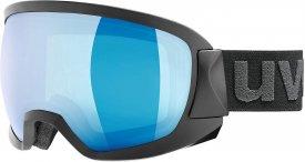 Uvex Skibrille Contest FM schwarz blue - clear