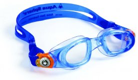 MOBY KID blue/orange transparent