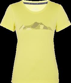Da.-T-Shirt Rakka wms YELLOW LIGHT