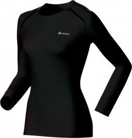 Shirt l/s crew neck WARM black