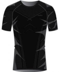 Shirt s/s crew neck EVOLUTION black - odlo graphite grey