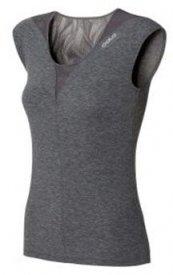 Shirt s/s crew neck REVOLUTION steel grey melange