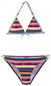 AISHA JR triangle bikini Beet Red