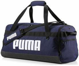 PUMA CHALLENGER DUFFEL BAG BLACK / WHITE / BLACK