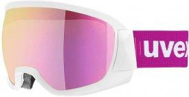 Uvex Damen Skibrille Contest FM pink - clear