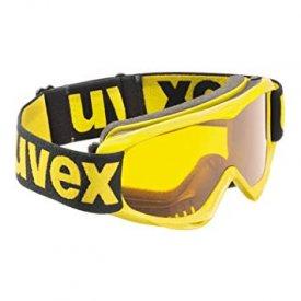 Uvex Kinder Skibrille Snowcat yellow / goldlite