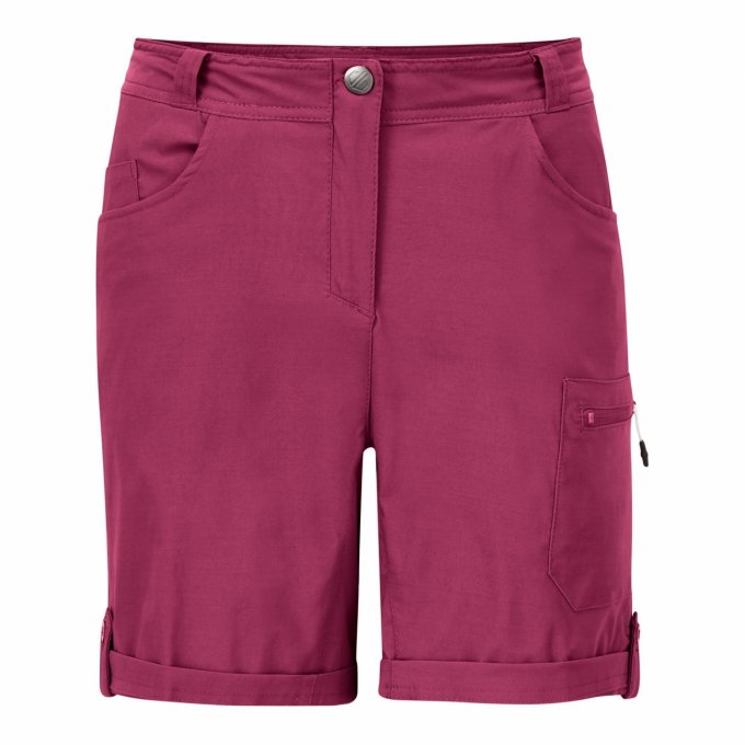 Wanderhose Melodic II Short Berry Pink